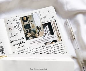 journal, goals, and cute image