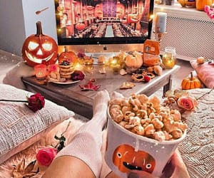 autumn, candy, and Halloween image