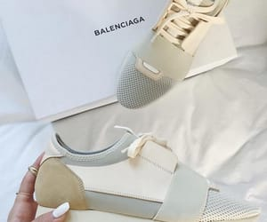 Balenciaga, baskets, and blanches image