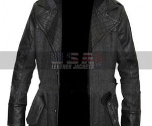 black coat, assassins creed syndicate, and wool coat image
