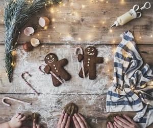christmas, winter, and baking image