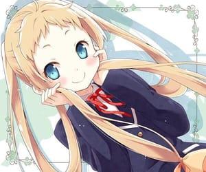 anime, anime girl, and chuunibyou image