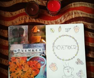 autumn, autumn colors, and candles image