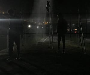 abduction, alien, and night image