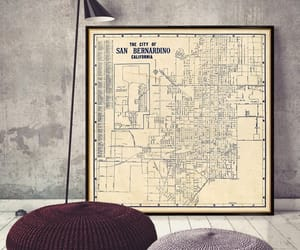 city, map poster, and etsy image