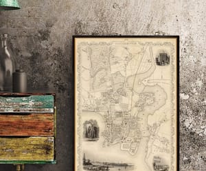 old, old map, and large map image