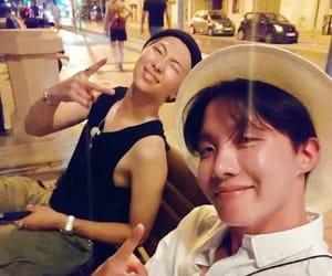 bts, kim namjoon, and jung hoseok image