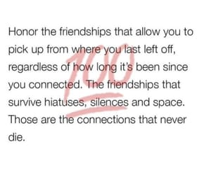 friendships, quote, and real image