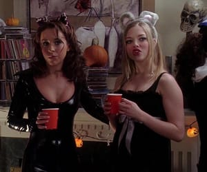 mean girls, Halloween, and scary image