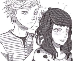 Adrien, miraculous, and marichat image