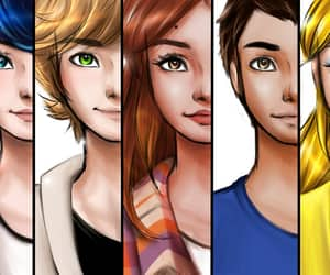 Adrien, art, and chloe image