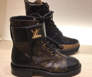 boots, brand, and fashion image