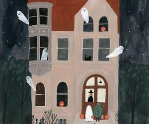 art history, Halloween, and illustration image