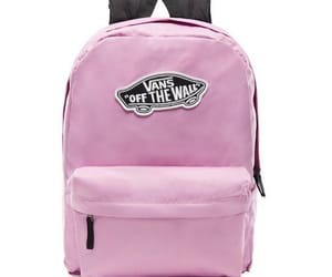 bag, pink, and vans image