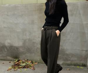 black top, cloth, and fashionable image