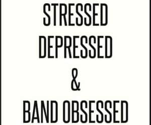 bands, depressed, and meme image