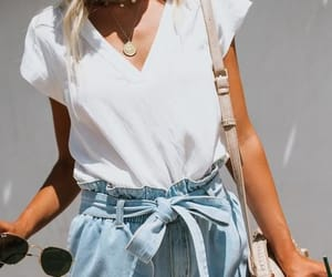 clothes, denim, and girly image