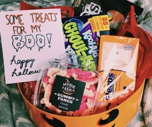 candy, food, and Halloween image