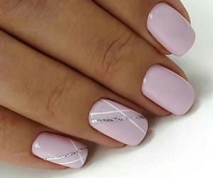 manicure, naildecoration, and nails image