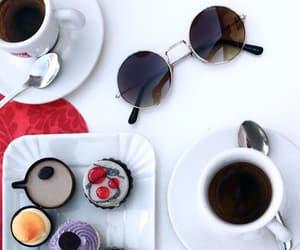 breakfast, matcha, and cherry image