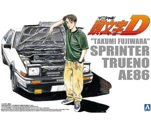 initial d, plastic model, and hypetokyo image