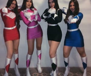 costume, Halloween, and power rangers image