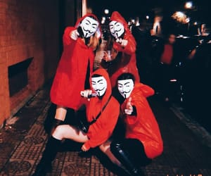 Halloween and la casa de papel image