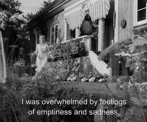 sadness, emptiness, and quotes image