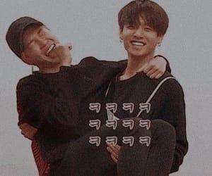jungkook, jimin, and bts image
