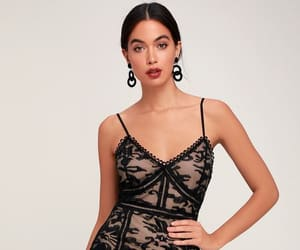 lace dress, sexy, and cocktail dresses image