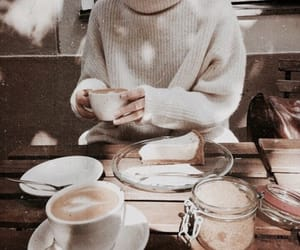 coffee, autumn, and cafe image