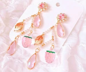 accessory, crystal, and earring image
