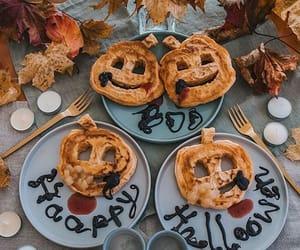 decor, dessert, and Halloween image