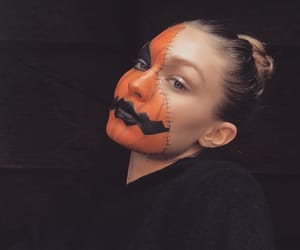 gigi hadid, Halloween, and makeup image