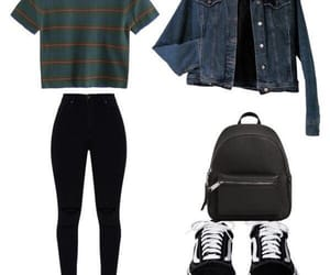 basic, outfit, and style image