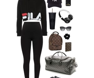 clothes, Fila, and fashion image