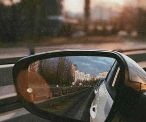 car and mirror image