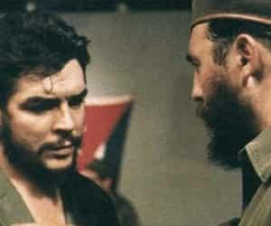 Che Guevara and fidel castro image