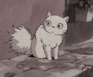 anime, anime girl, and cat image