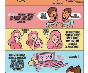 simone de beauvoir, português, and feminismo image