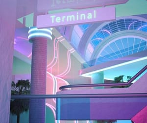 90's, Miami, and aesthetic image