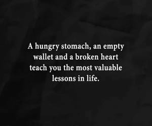 heartbreak, hunger, and life lessons image