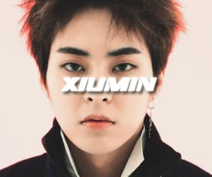 exo, gif, and xiumin image