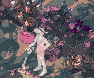 fantasy, flowers, and gardening image