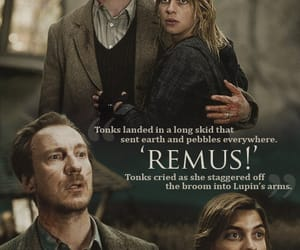 harry potter, remus, and tonks image