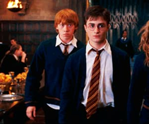 gif, hermiona, and harry potter image