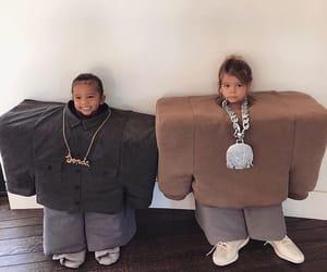 baby, Halloween, and kardashian image