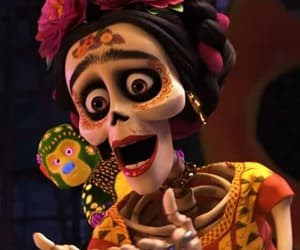 coco, disney, and frida kahlo image