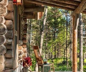 cabin, mountain home, and country living image