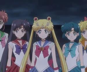 sailor scouts, sailor mars, and usagi tsukino image